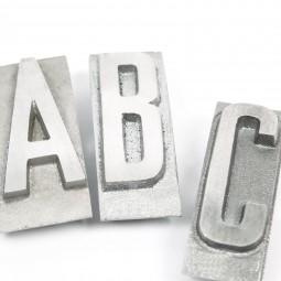 Einzelbuchstabe (Block) «GROSSBUCHSTABE»