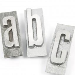 Einzelbuchstabe (Block) «KLEINBUCHSTABE»