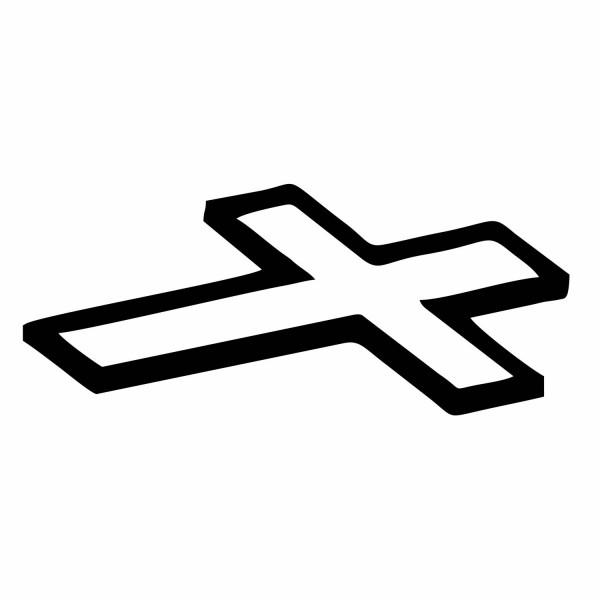 Liegendes Kreuz (schrägliegend) | Motive | Buchstaben | ERCO